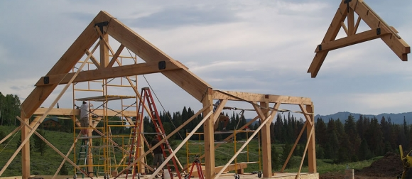 Craft of timber framing has local advocates