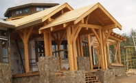 Kiely - Timber Frame Home