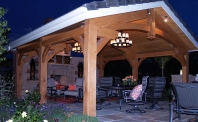 Smith - Timber Frame Outdoor Kitchen
