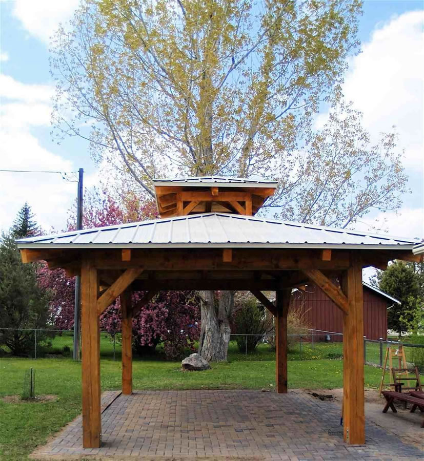 Timber Outdoor Living: Brewster Timber Frame