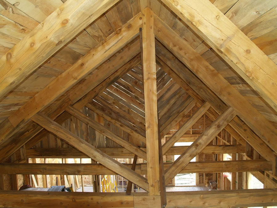 Busby - Timber Frame Home