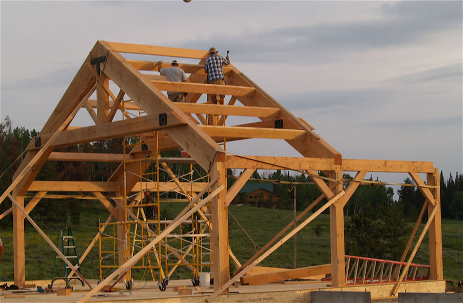 Haveron - Timber Frame Home