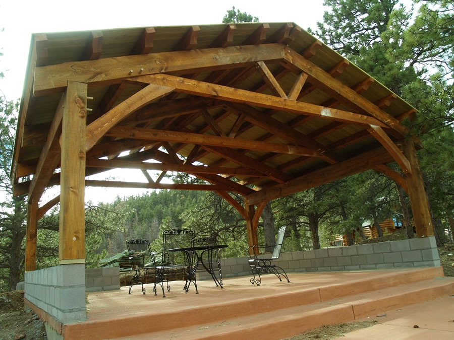 Quinlan - Timber Frame Pavilion