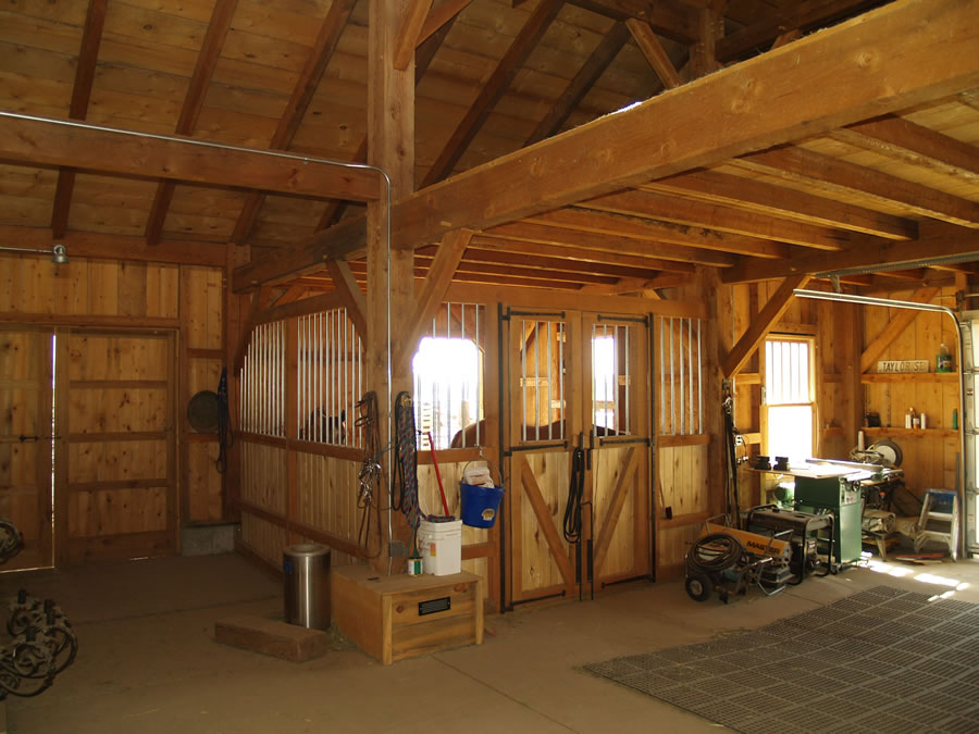 Taylor - Timber Frame Barn